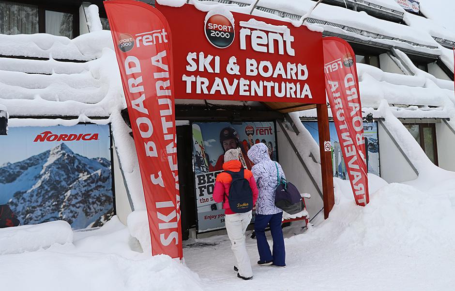 ski & board traventuria - borovets ski shop